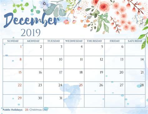 printable calendar december  template set  plan tasks   ideas calendar