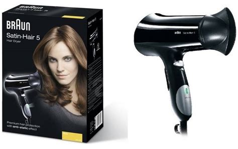 Braun Hair Dryer Satin 5 braun satin hair 5 hair hd510 hair dryer alzashop