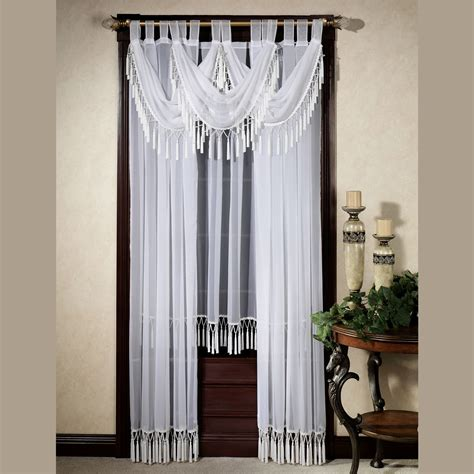 window dressings rajah pearl window treatment