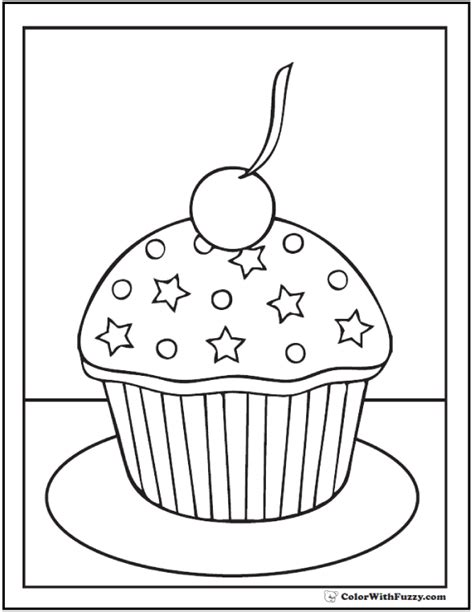 coloring page cupcake free cupcake coloring pages az coloring pages