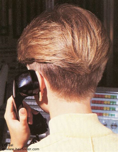 coiffure avec nuque courte style 224 la gar 231 onne et une