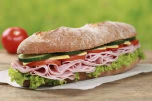 how many calories in a ham sandwich livestrong com