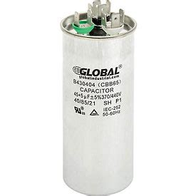 what does a dual run capacitor do dual voltage 370 440 run capacitor 45 5 mfd