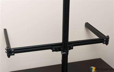 Ergotech Desk by Ergotech Freedom 1 3 Desk Stand Review Techgage