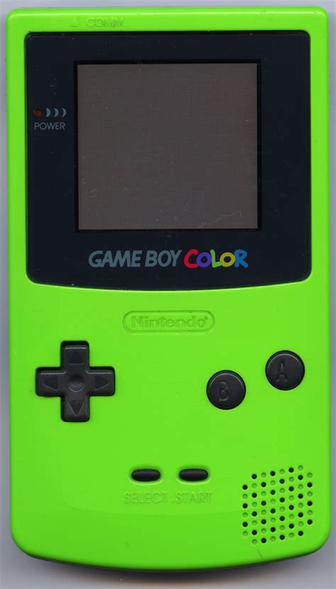 gameboy color file boy color green jpg