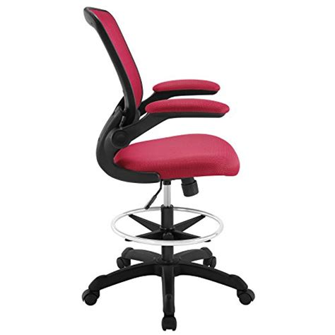Modway Veer Drafting Stool Chair by Modway Veer Drafting Stool Chair 26l X 26w X 49 5h