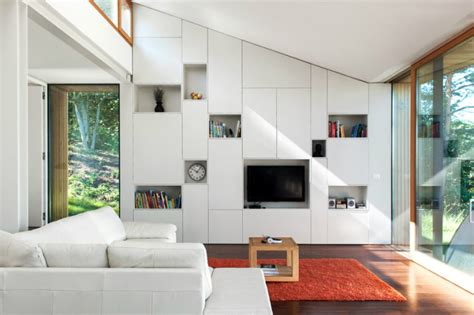 built in storage living room modern built ins for every room and purpose