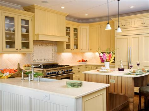 white and yellow kitchen ideas kitchen layout templates 6 different designs hgtv