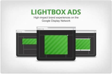 doubleclick rich media templates rich media gallery lightbox ads