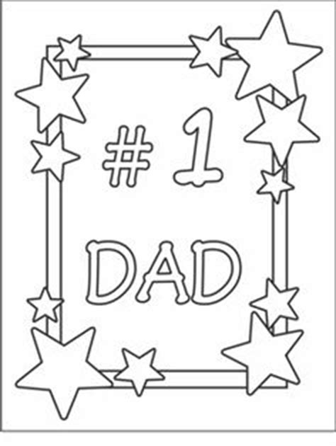 free printable fathers day cards to make free printable coloring page for s day this