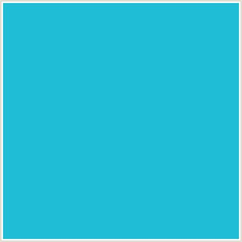 pale blue color 1fbed6 hex color rgb 31 190 214 java light blue