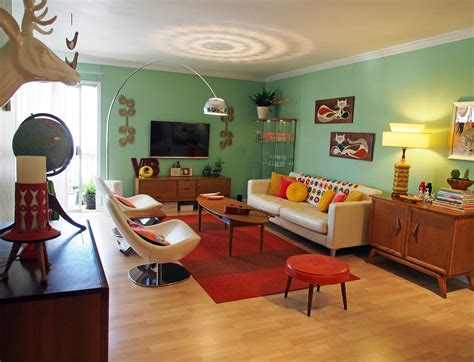 retro livingroom retro living room furniture ideas and curtains