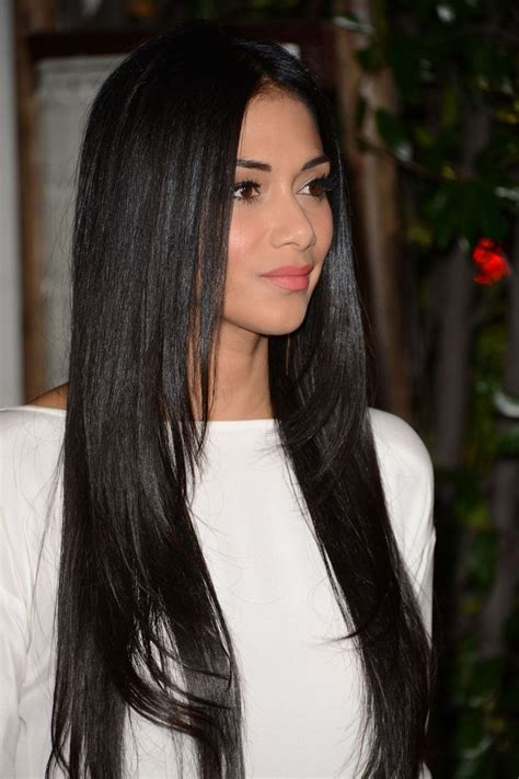 everyday hairstyles for thin hair long straight layered hairstyles for naturaly black color