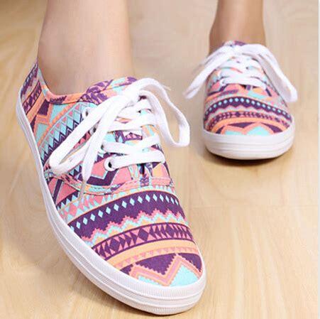 geometric pattern vans geometric pattern leopard print low top sneaker flat shoes