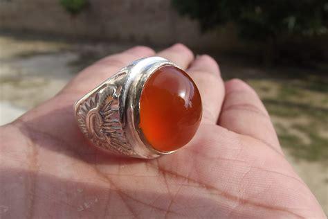 Batu Akik Gambar Orang Kerdil khasiat dan manfaat batu akik borneo orange