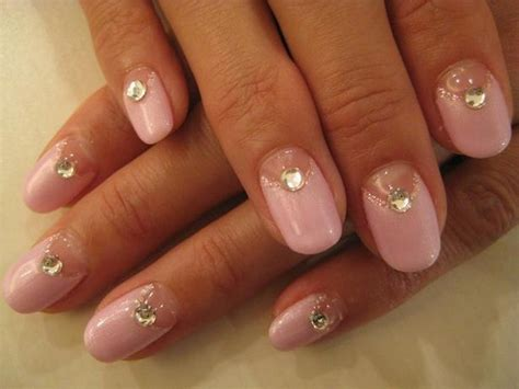 nail art rhinestones tutorial diy nail art tutorials rhinestones designs step by step