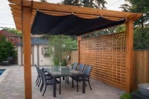 Retractable Shade Pergola by Retractable Pergola Shade Garden Creations Pinterest