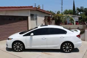 White Honda Civic Si Honda Civic Si 2015 4 Door Image 247