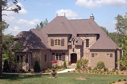 french country style house plans french country house plans for a 2 story 4 bedroom home
