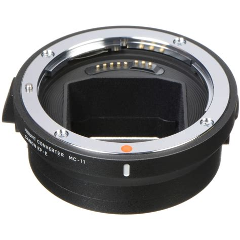converter canon to sony sigma mc 11 mount converter lens adapter 89e965 b h photo