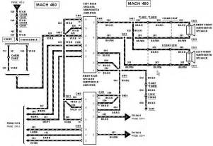 2001 mustang mach 460 stereo wiring diagram 2001 wiring diagram free