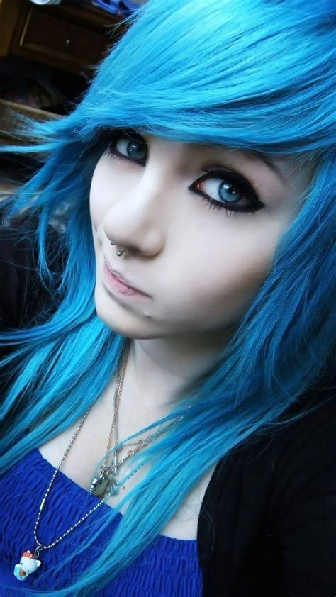 wallpaper blue hair girl iphone wallpaper amber mccrackin girl blue hair