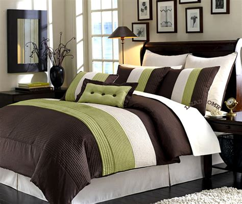 brown and green bedroom brown and hunter green bedding bedroom ideas pictures