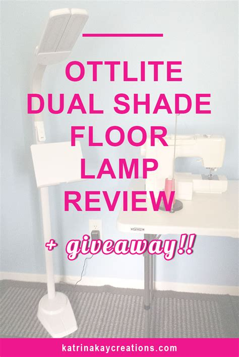 led floor l reviews ottlite dual shade led floor l review giveaway