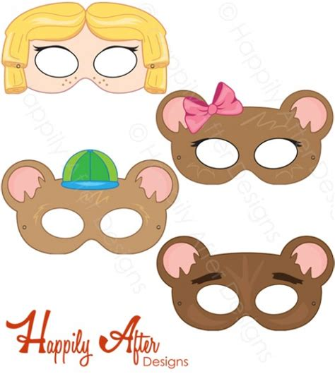 printable masks for goldilocks and the three bears goldilocks and the three bears printable masks