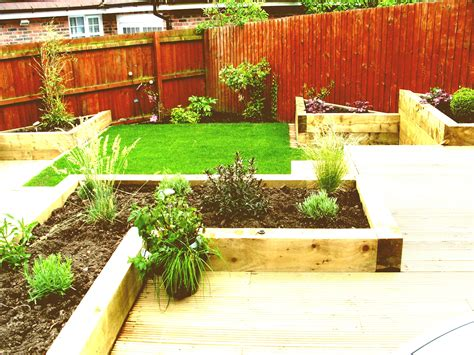small gardens landscaping ideas budget garden on a uk the