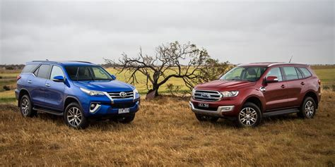 Ford Toyota 2016 Toyota Fortuner Vs 2016 Ford Endeavour Comparo