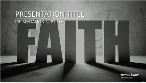 Free Faith Powerpoint Template 9271 Sagefox Powerpoint Templates Faith Powerpoint Templates Free