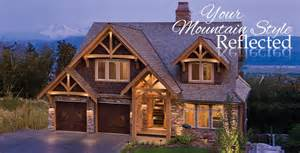 A Frame Style Homes timber frame mountain style homes