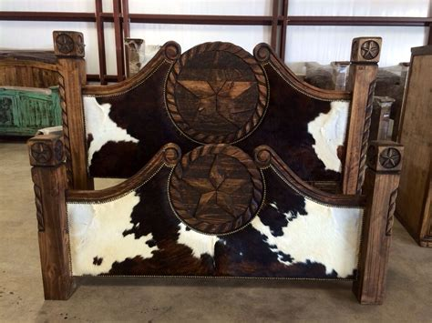 cowhide beds cowhide bed with ebay