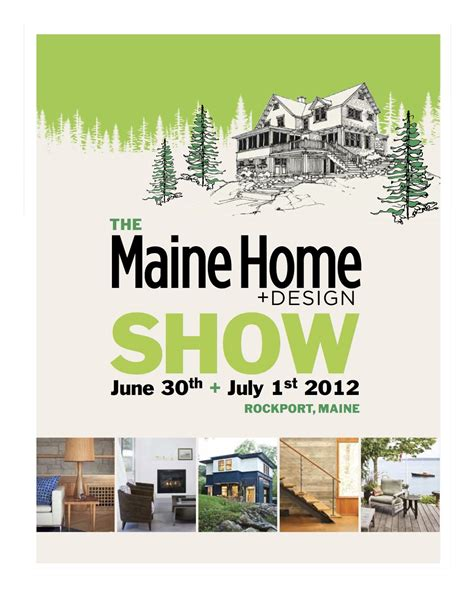 maine home and design show house design ideas