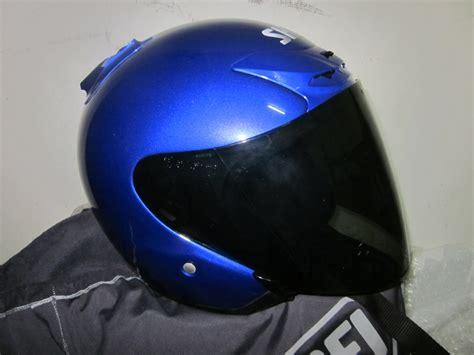 Helmet Shoei Dan Arai fahmy hattan shoei jforce 2 blue