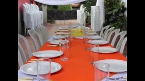 alquiler de mesas y sillas para eventos alquiler de mesas y sillas para casamientos youtube