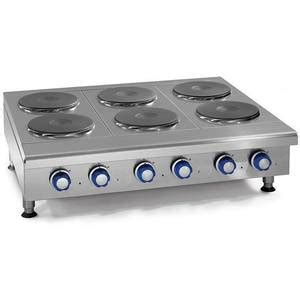 Electric Countertop Range by Imperial Range Ihpa 4 24 E 24 Quot Countertop Electric Hotplate With 4 2kw Burners