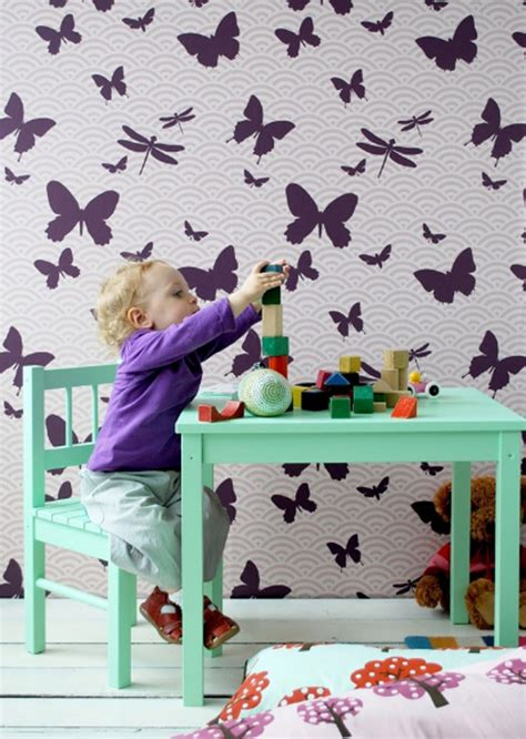 wallpaper designs for kids 17 cool and creative kids room wallpaper ideas home
