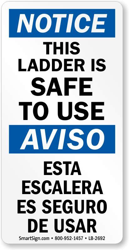 Who Uses A Safety L by Ladder Safety And Warning Labels Affordable Yet Durable