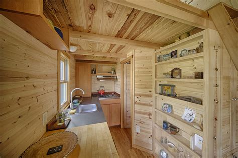 tiny home with a big kitchen the sweet pea tiny house plans padtinyhouses com