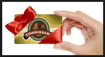 Commissary Gift Cards - military avenue article view