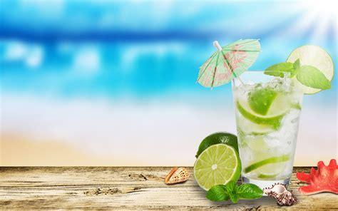 summer cocktail summer beach wallpaper android wallpaper wallpaperlepi