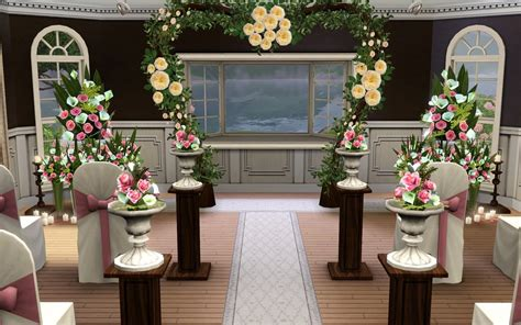 Wedding Arch Another Name by Mod The Sims Reverie S B B A Wedding Venue