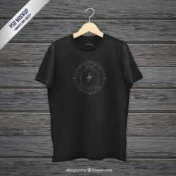 template t shirt cdr black t shirt mockup psd file free