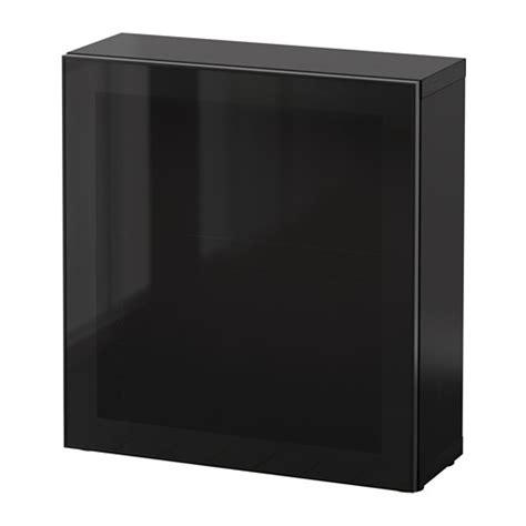 besta schwarz best 197 regal mit glast 252 r schwarzbraun glassvik schwarz