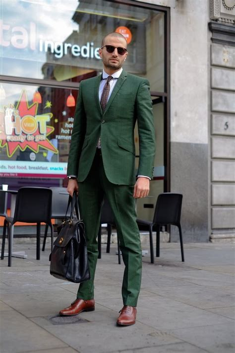 Latest Coat Pant Designs Green Men Suit Slim Fit Wedding