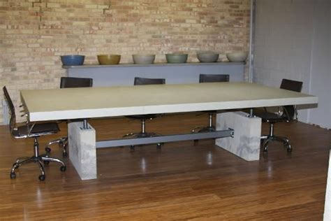 Concrete Conference Table Concrete Conference Table Sp