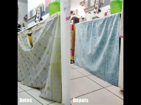 diy cortinas diy cortina de pia gastando pouco