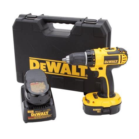 dewalt 18 volt ni cad 1 2 in cordless compact drill